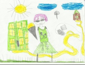 рисунки младших школьников