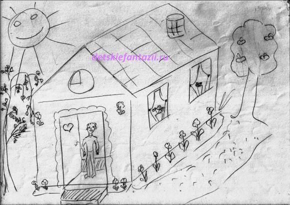 рисуночный-тест-дом -дерево-человек