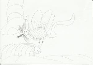 рисунок несуществующего животного