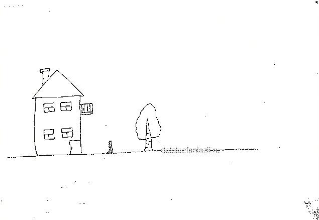 тест дом дерево человек