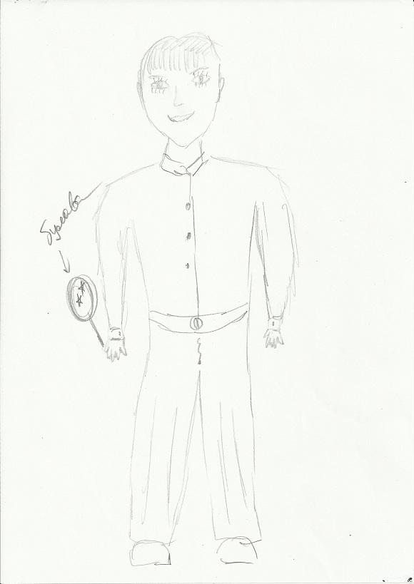 тест рисунок человека