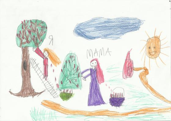кинетический рисунок семьи