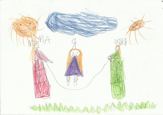 рисунок семьи по Л. Корману