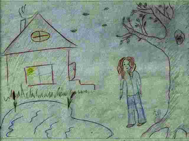рисунок-дом-дерево-человек